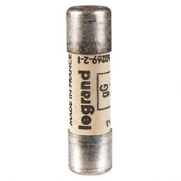 Cartouche industrielle cylindrique à voyant - 10 A - Boîte de 10 - LEGRAND