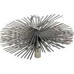 Hérisson rond en acier plat - 200 mm - SCID