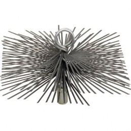 Hérisson carré en acier plat - 200 x 200 mm - SCID