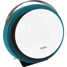 Radiateur digital soufflant portatif - 2000 Watts - Calypso - Bleu - SUPRA