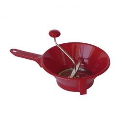 Passe-légumes en plastique - 2 grilles - Rouge cerise - GUILLOUARD
