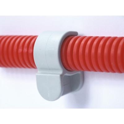 Collier cheville simple en plastique - 25 mm - Lot de 20 - FIX'PRO