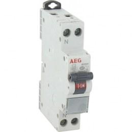 Disjoncteur phase neutre PH+N 2A - AEG