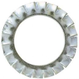 Rondelle éventail en acier zingué - Ø 10 mm - Lot de 12 - FIX'PRO