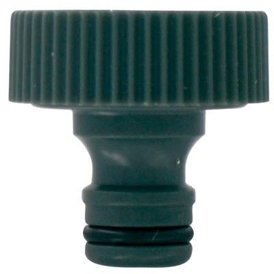 Nez de robinet Femelle - 20 x 27 mm - CAP VERT
