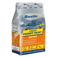 Ciment Prompt Vicat - Sac de 5 Kgs - BOSTIK