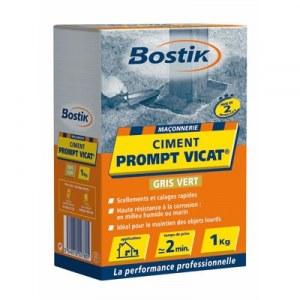 Ciment Prompt Vicat - Boîte de 1 Kg - BOSTIK