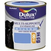 Peinture multi-supports extérieure - Satin - 0.5 L - Bleu provence - DULUX VALENTINE