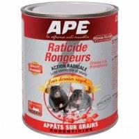 Raticide / rongeur - Céréales - 400 gr - APE