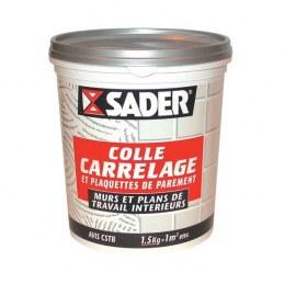 Colle carrelage et plaquette - Intérieur - 5 Kg - SADER