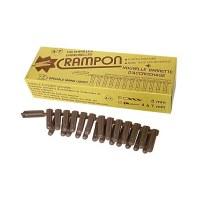 Boîte de 15 chevilles Crampon - 4 à 7 mm