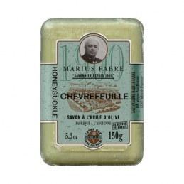 Savonnette à l'huile d'olive - Parfum Chévrefeuille - 150 Gr - MARIUS FABRE