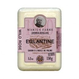 Savonnette à l'huile d'olive - Parfum églantine- 150 Gr - MARIUS FABRE