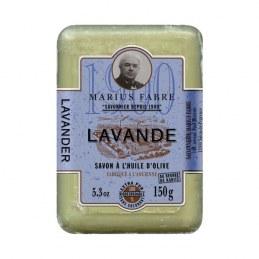 Savonnette à l'huile d'olive - Parfum Lavande - 150 Gr - MARIUS FABRE
