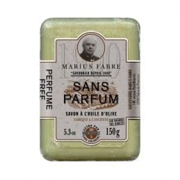 Savonnette à l'huile d'olive - Sans parfum - 150 Gr - MARIUS FABRE