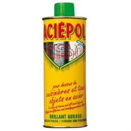 Nettoyant Acier - VERT Tâches tenaces - 250 ml - ACIEPOL
