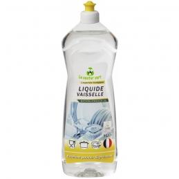 Liquide vaiselle concentrée - Sans parfum - Écologique - 1 L - LE CASTOR VERT