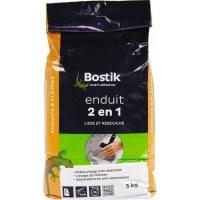 Enduit en poudre 2 en 1 - 5 kg - BOSTIK