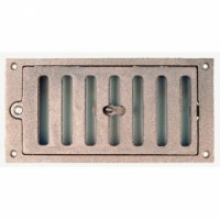 Grille Aération Rectangle Fonte 220X110mm