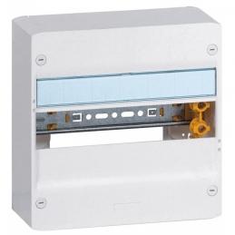Coffret à équiper - 1 rangée 13 modules - 250 x 250 x 103,5 mm - avec borniers - LEGRAND