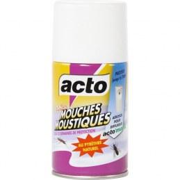 Recharge aérosol pour diffuseur électrique - mouches et moustiques - 250 ml - ACTO