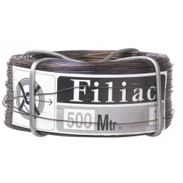 Bobinots fil attache - Acier recuit - 500 M x 0.55 mm - FILIAC