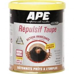 Répulsif taupes - Bâtonnets x 55 - APE