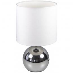 Lampe à poser en acier chromé - Noa - RANEX