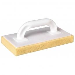 Taloche de carreleur - A nettoyer - 280 mm - Semelle éponge jaune - OUTIBAT