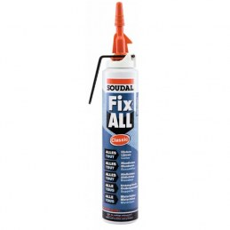 Mastic Fix All Classic Soudal - Cartouche gachette 200 ml - Blanc