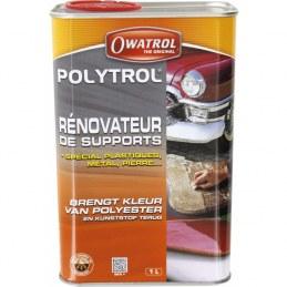 POLYTROL - Rénovateur plastiques, pierre, ciment, métal - 1 L - OWATROL