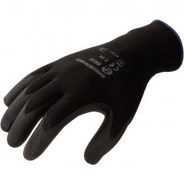 Gants de précision en Polyester - Taille 9 - Noir - EUROTECHNIQUE