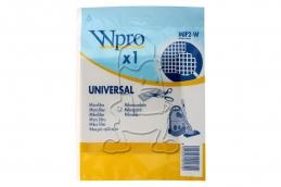Sac aspirateur Micro-filtre universel - MIF2-W - Lot de 1 - WPRO