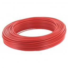 Câble d'installation H07V-U 2.5 mm² - 100 M - Rouge - ELECTRALINE