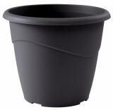 Pot à fleurs - Rond - Marina - Gris - 3 L - EDA