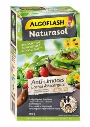 Anti-Limaces, Loches et Escargots - En granulés - 750 Grs - ALGOFLASH