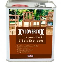 Huile pour teck et bois exotiques - Xylovertox - 2.5 L - SPADO