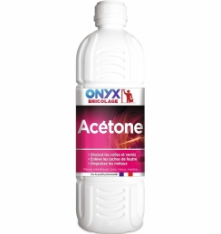 Acétone : Dissolvant pour vernis et peinture - 1 L - ONYX