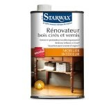 Rénovateur meubles bois cirés et vernis 500ml - STARWAX