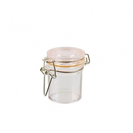 Verrine en forme de mini pot avec couvercle - Lot de 12 - 45 ml Ø 4,8 cm - PAPSTAR