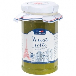 Confiture haut de gamme AND PIERAL - 50 % de fruits - Tomate verte - 270 Grs - ANDRESY
