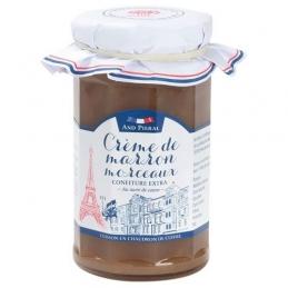 Confiture haut de gamme AND PIERAL - Crème de marrons avec morceaux - 270 Grs - ANDRESY