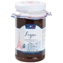Confiture haut de gamme AND PIERAL - 50 % de fruits - Figue - 270 Grs - ANDRESY