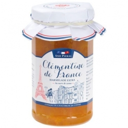 Confiture haut de gamme AND PIERAL - 50 % de fruits - Clémentine - 270 Grs - ANDRESY