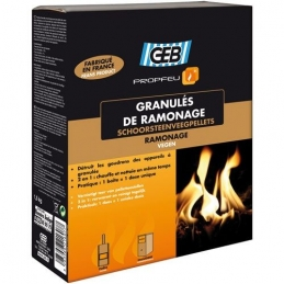 Granulés de ramonage Propfeu - 1.5 Kg - GEB