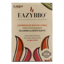Allume feu - EazyBBQ - 100 % Naturel - FLAM UP