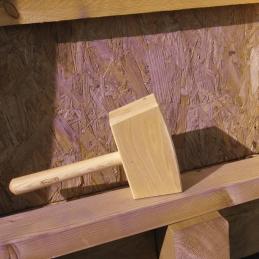 Maillet de menuisier en bois - 750 Grs - 41 mm - MOB