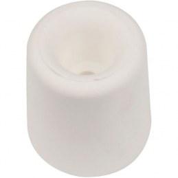 Butee ou butoir de sol caoutchouc conique - Finition.Blanc - Ø 30 mm