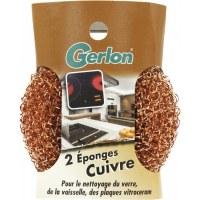 Eponge cuivre modèle EL2C - Lot de 2 - GERLON