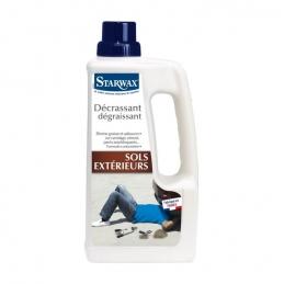 Nettoyant décrassant dégraissant pour sols extérieurs - 1L - STARWAX